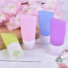 38/60/80ml Travel Refillable Bottles Silicone Squeeze Bottle Tube ContainersFRFR