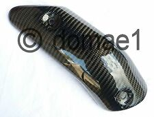 Ducati 749 999 carbon Hitzeschutz Auspuff Verkleidung Abdeckung Blende Blech