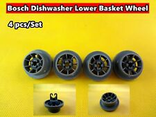 Bosch Dishwasher Spare Parts Lower Basket Wheel Replacement 4 pcs/set (D26) New