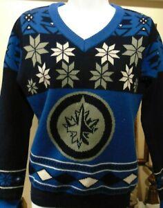 Winnipeg Jets Women's Crew neck Sweater NHL Approved Medium