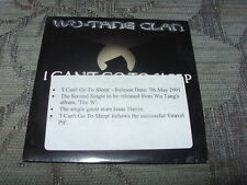 Wu-Tang Clan:   I Can't Go To Sleep 1 track promo  CD NM