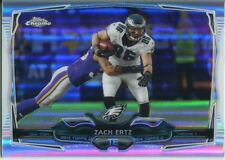 Topps Chrome Football 2014 Refractor Card #34 Zach Ertz - Philadelphia Eagles