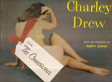 """(Cover) Charley Drew """"For The Connoisser"""" 1950s Lp"""