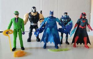 Spin Master DC BANE Batwoman The Riddler Nightwing Bat-Tech Batman *RARE lot