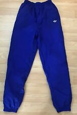 Adidas Trefoil Logo Wind Track Pants Athletic Small Lined Vintage Small