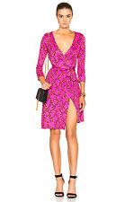 DIANE VON FURSTENBERG DVF New Julian Two Shalamar Trellis Dress Size 2 NWT $398