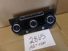 09 10 Volkswagen Golf Used AC and Heater Control #2865-AC