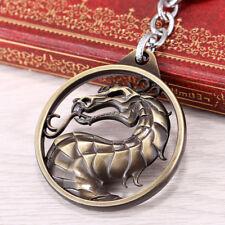 New Arrivals Online Game Mortal Kombat Key Chain Bronze Alloy Pendant Collection