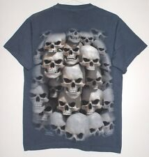 Skulls Bone Pocket T Shirt Size M Bones Pile Of Skulls Catacomb