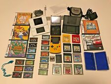 31 Nintendo Gameboy Games and 4 Systems Package Lot
