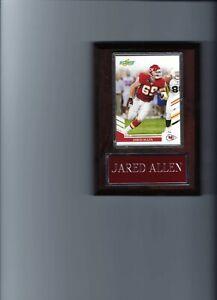JARED ALLEN PLAQUE KANSAS CITY CHIEFS KC FOOTBALL NFL   C