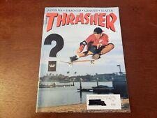 New listing VTG THRASHER SKATEBOARD MAGAZINE MARCH 1992 NIRVANA POWELL PERALTA ACME sticker