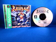 PlayStation PS1 Rayman Greatest Hits Video Game