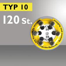 Piles d'Appareils Auditifs 120 x POCKET Bouton d'Aide De Type Pile 10 PR70 ZL4