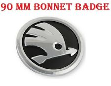 Skoda Bonnet Front Emblem Badge Symbol Logo 90mm