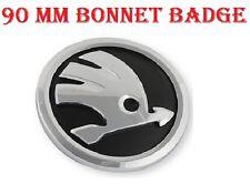 Insignia skoda Bonnet delantero emblema símbolo Logo 90mm