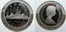 1982 Canada $1.00 Voyageur Dollar Frosted Proof
