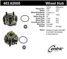 Axle Bearing and Hub Assembly Repair Kit-Premium Hubs Front Centric 403.62000