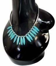 Turquoise Round Chain Costume Necklaces & Pendants