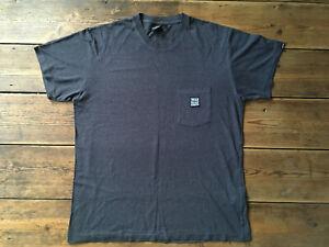 Deus Ex Machina Grey T-Shirt 55% Cotton 45% Hemp Szie M/ L - Surfing Skate