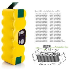 3.5ah 3500mah Capacity Battery for Irobot Roomba 880 500 510 530 535 545 550 552