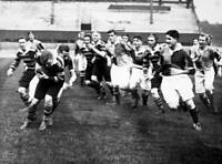 RUGBY UNION OLD PHOTO Harlequins Jc Gibbs Tackles 1927