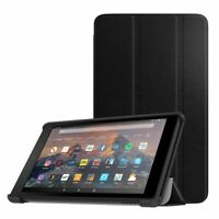 For Amazon Fire 7 Tablet (9th Generation 2019) Case Smart Book Stand Cover