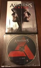 Assassin's Creed (Blu-Ray Only, 2017) New In Jewel Case With Slipcover