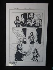 Amory Wars Issue 4 page 8 Signed Claudio Sanchez Coheed Cambria