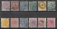 BJ6508/ NEW ZEALAND – 1874 / 1900 USED CLASSIC LOT – CV 305 $