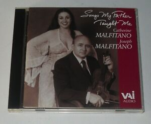 US IMPORT:NEW:JOSEPH & CATHERINE MALFITANO / SONGS MY FATHER TAUGHT ME - CD
