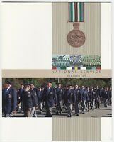 2010 STAMP PRESENTATION PACK 'NATIONAL SERVICE MEMORIAL' MINI SHEET 10 x 60c MNH