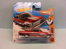 Diecast Hot Wheels Muscle Mania '63 Chevy II on Blister