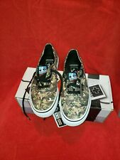 NEW Vans Authentic Nintendo Duck Hunt Camo Shoes Men's Sz 6 Women's Sz 7.5