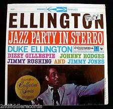 ELLINGTON JAZZ PARTY-Rare Mint Audiophile Jazz Album In Shrink-COLUMBIA JCS 8127