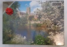 Falcon jigsaw puzzles 2000 piece Worcester Cathedral Nature Lake New Unopened