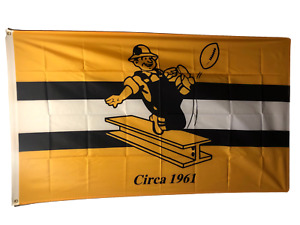 Pittsburgh Steelers 3x5 Flag Man Cave Banner Old School Throw Back Circa 1961