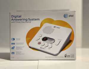 AT&T 1740 Digital Answer System w/ Time Day Stamp 60 Min Recording Time