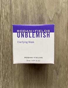 NEW Rodan and Fields Unblemish Clarifying Mask, with Box.