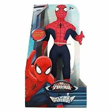 New Marvel Ultimate Spiderman / Spider Man Flying Friends Talking Soft Figure