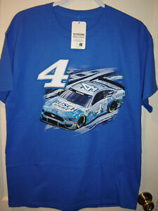 2021 Kevin Harvick #4 Busch Light Checkered Flag Sports Fuel Tee LARGE