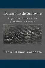 Desarrollo de Software : Requisitos, Estimaciones y análisis. 2 Edición by...
