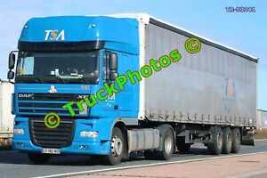 Truck Photo TR-00041 DAF XF Reg:- CT182NC Op:- TSA M20 Dover Lorry Kent