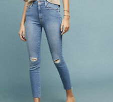 Mother Denim High Waisted Looker NWT Size 27 shoot To Thrill Destroyed