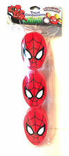 2x Marvel Ultimate Spider-Man Figural Easter Eggs Treat Container Favor 3ct