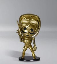 """FIGURINE - SIX COLLECTION - VALKYRIE 4"""" GOLD CHIBI (MCH-059)"""