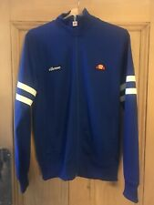 Ellesse Tracksuit Top UK Size Medium Football Casuals Retro Vintage Blue