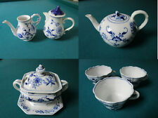 TK Meissen GERMANY COUNT THUN 1890s Klosterle TUREEN CUPS TEAPOT CREAMER