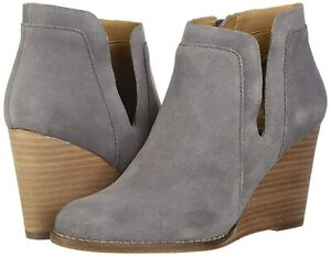 Lucky Brand Women's Lk-Yabba Ankle Boot, Titanium, Size 8.5 8DHf