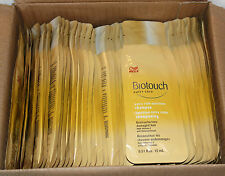 Lot of 50 Travel Size Wella Biotouch nutri-care extra rich Shampoo 0.51 fl oz ea